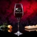 Magister - grawerowany kieliszek do wina