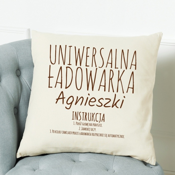 Uniwersalna ładowarka - poduszka personalizowana