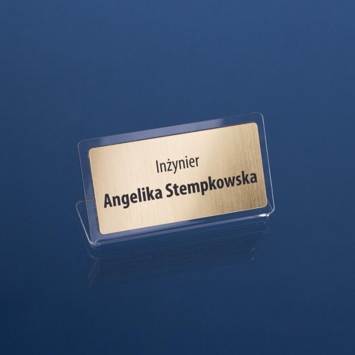 Wizytówka na biurko 11x6 cm